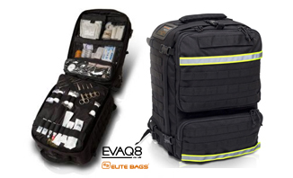 Tactical Rescue Bag PARAMED | medical bag info - first responder advanced medical bags from EVAQ8.co.uk the UK's Emergency Preparedness specialist